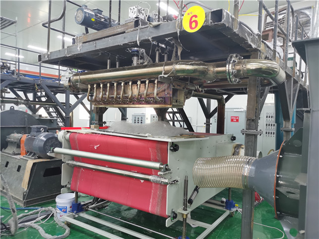 1200mm with, 800kg per day meltblown nonwoven fabric machine