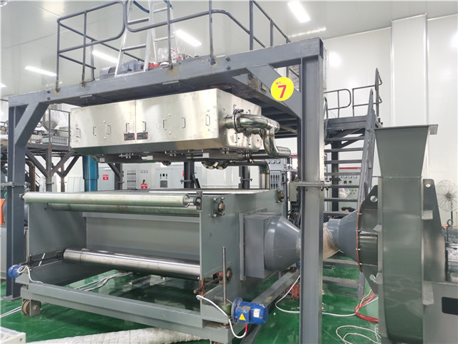 1600mm with, 1.2 t per day meltblown nonwoven machine