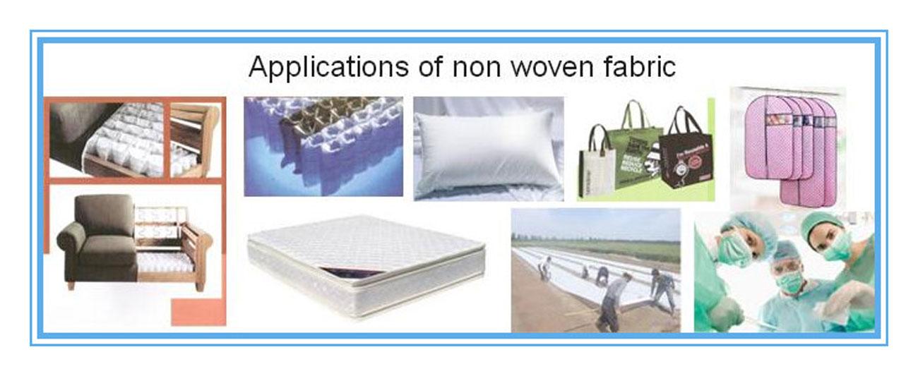 Non Woven Fabric Applications