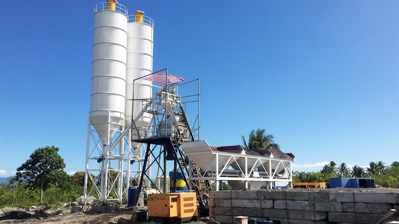 AIMIX Wet Batch Concrete Plant
