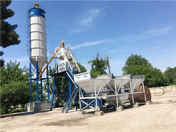 AJ50 Wet Mix Concret e Plant