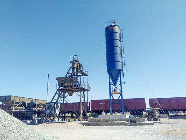 AJ75 Concrete Plant