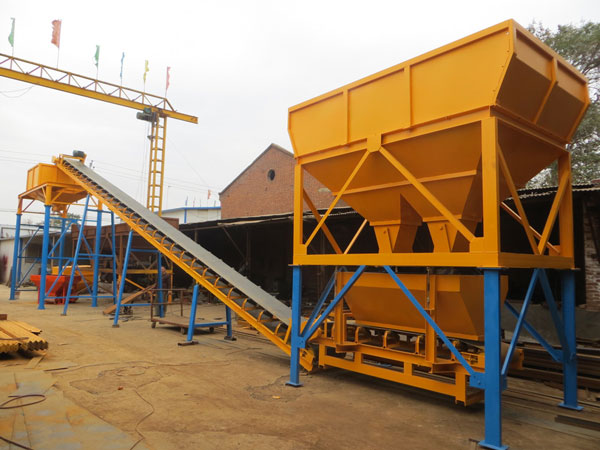 Dry Concrete Batch Plant