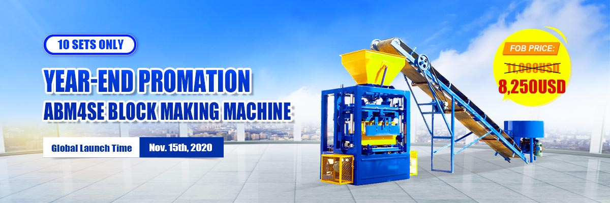ABM-4SE Brick Making Machine for Sale with Lower Price