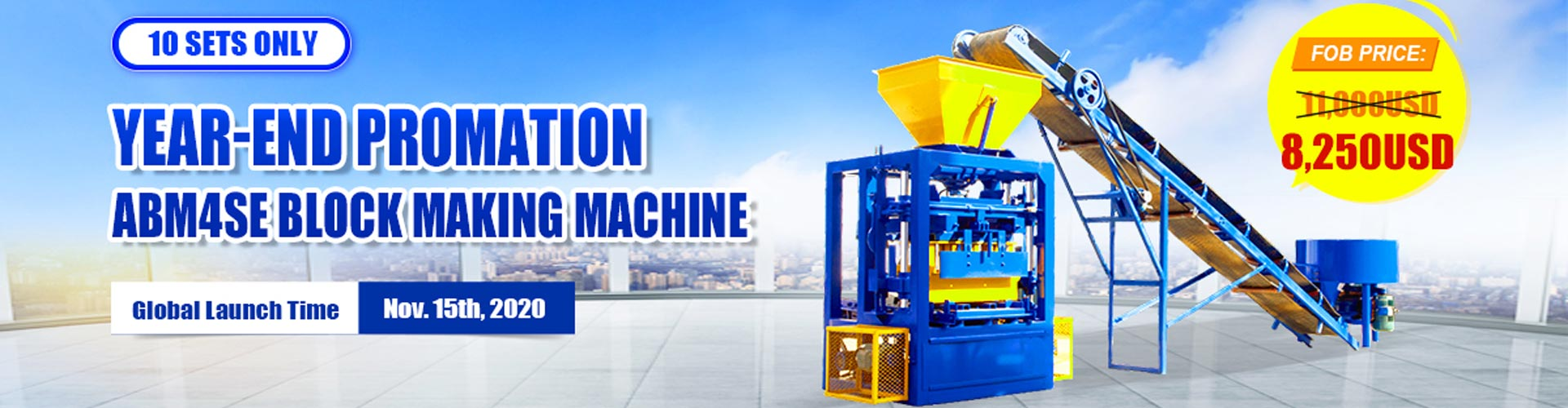 AIMIX ABM-4SE Brick Making Machine for Sale with Lower Price