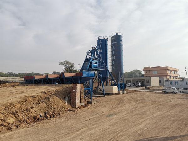 AJ50 Concrete Plant Debugging in Pakistan