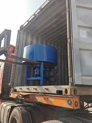 Loading Pan Concrete Mixer